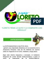 Propuesta de Expoloreto 2014
