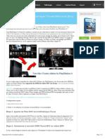 Comment transférer vidéos iTunes à PlayStation 4