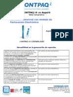 CONTPAQi Documento TablaComparativaVsCoi CONTABILIDAD 05May13