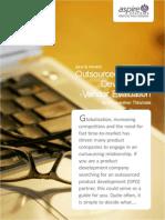 Whitepaper OPD Vendor Evaluation