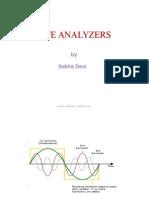 Wave Analyzers