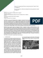 Cotainment  Bund using geotextile
