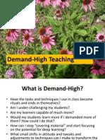 Demand High Seminar Pack One Powerpoint Slides 002