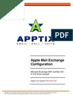 Apptix Apple Mail Configuration