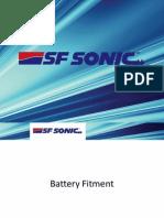 Battery Fitment Proceedure