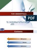 TCM CREDENTIALS -2014 (1).pptx
