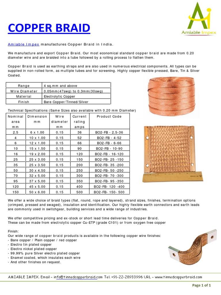 Copper Braid | Copper | Wire