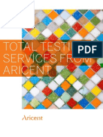 Aricent Total Testing Services