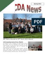 CDA Spring 2012