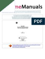 User Manual Ge Atlas Gentech Tss308ge a Nz e