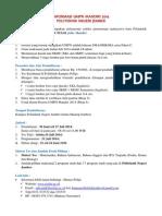 Info Pmb Jalur Umpn Mandiri 2014