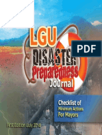 LGU Disaster Preparedness Journal