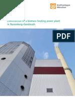 Biomasse-HKW Sandreuth E NQ