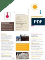 Mesures Préventives en Cas de FORTES_CHALEURS Juillet 2014