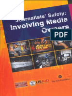 Journalists Safety Involving Media Owners