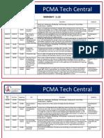 Techcentral Schedule Rev 1-8-14