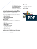 Existing Plant Engineering Services