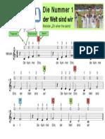 Liedblatt Mit Akkorden