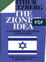 Arthur Hertzberg the Zionist Idea a Historical Analysis and Reader 1997-Transfer Ro-07mar-35d772