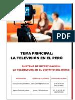 La Televición en El Perú (2) Escri