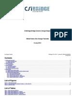 Csi Bridge Design Report