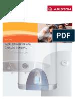 Catalog General Incalzitoare de Apa 2008