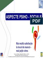 Aspecte psiho sociale
