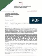 NOB Consultatie Voorontwerp Grensoverschrijdende Omzetting Kapitaalvennootschappen