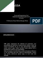 Principios de Argamassas (1)