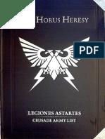 Hh Legiones Astartes Crusade Army List Isstvan