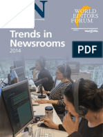 Trends in Newsrooms 2014