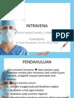 Farmakologi Obat Anestesi Intravena
