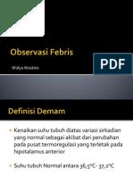 Observasi Febris