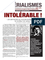 N°6.MATERIALISME.Intolérable.pdf