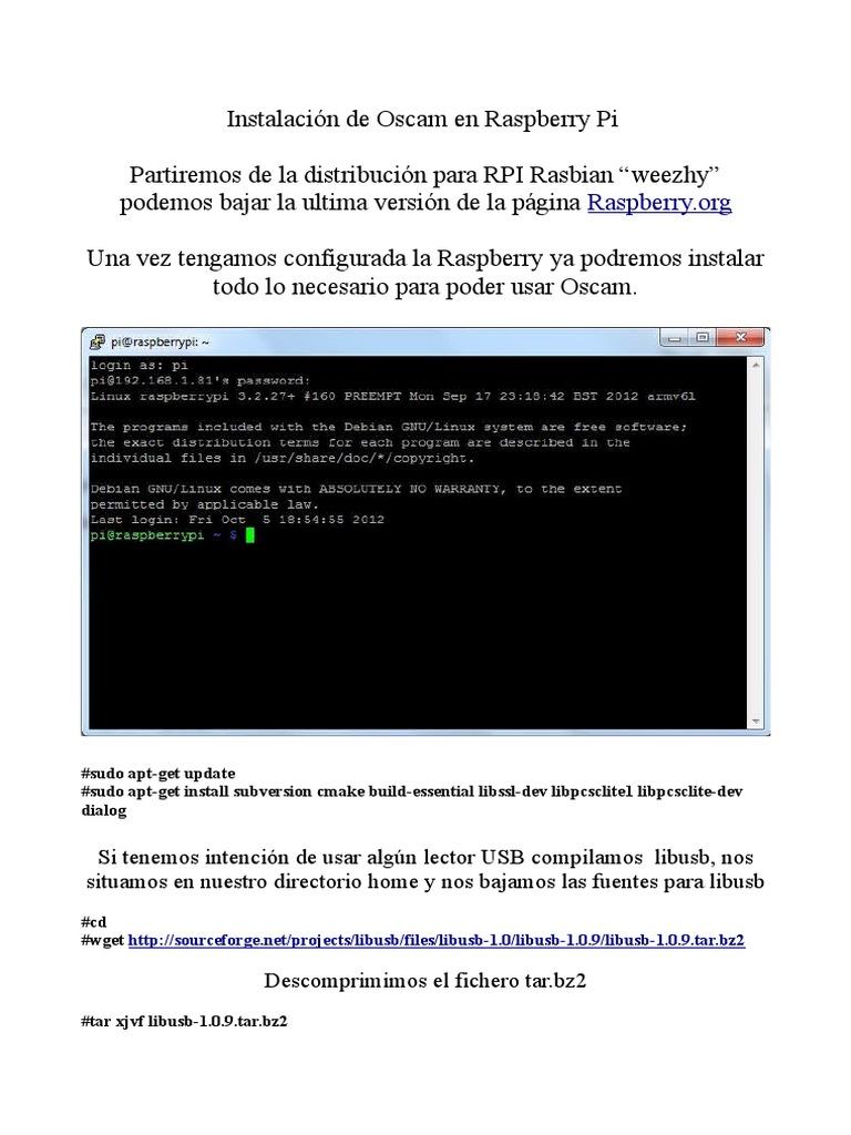 Manual Oscam | Software de utilidad | Software del sistema