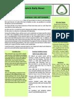 Newsletter 19 22 July 14