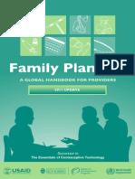 Family Planning Handbook