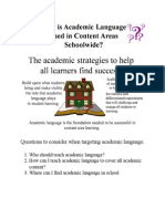 chapter 4 questions to consider when targeting academic language