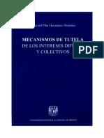 Mecanismos de Tutela de Los Intereses Difusos- Hernandez Martinez
