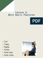 microsoft word tutorial...lesson 4