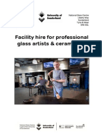 National Glass Centre - Facility Hire for Glass Artists