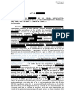 Escrito de Informes (Desalojo)