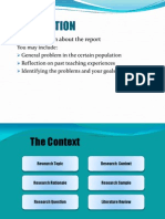 Fyp-writing the Report