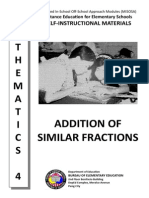 39. Addition of Similar Fractions