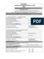 Formulario Proyectos de Aula ObservacionesSEGUNDO