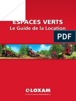 Guide Espaces Verts