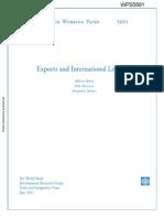 Exports and International Logistics