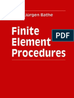FEM - Finite Element Procedures - K -J Bathe - 1996