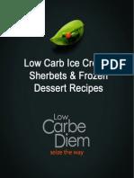 19 Low Carb Ice Cream Recipes