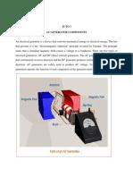 Ac Generator Components Print